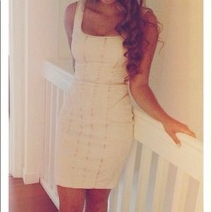 Cache Fitted Dress